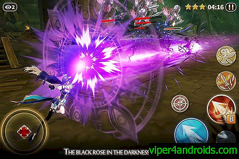 Descargar Dawn Break -Night Witch- 1.1.0 APK y caché (Mod: menú) para android