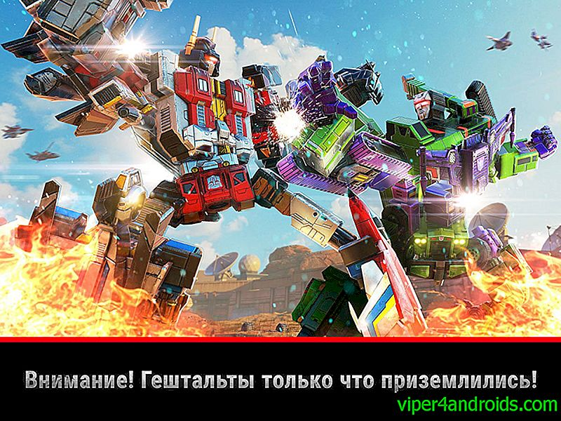 Stiahnite si Transformers: Earth Wars 5.0.0.130 APK (Mod: Power) pre android